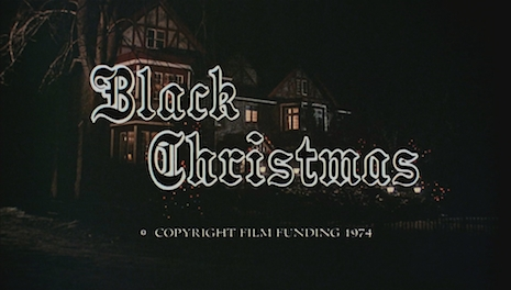 Black Christmas title card