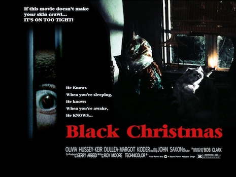 Black Christmas lobby card