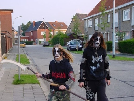 A day in the life of a black metal teenager