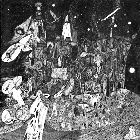 At the Mountains of Madness: Enter the chaotic worlds of Rudimentary Peni's Nick Blinko Artes & contextos boo04