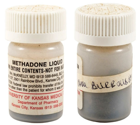 burroughs methadone bottle