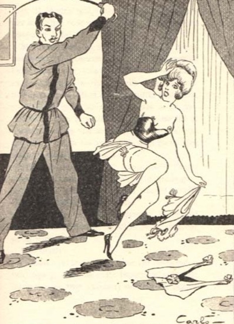 A fetish illustration by Carlo, approximately 1909