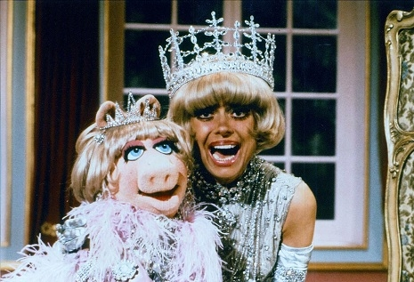 Miss Piggy and Carol Channing