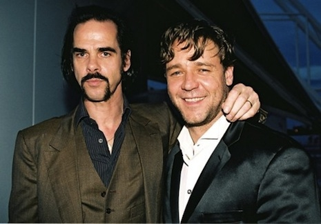 Nick Cave and Russell Crowe