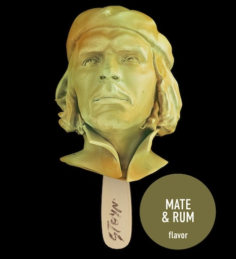 Che ice cream, mate and rum