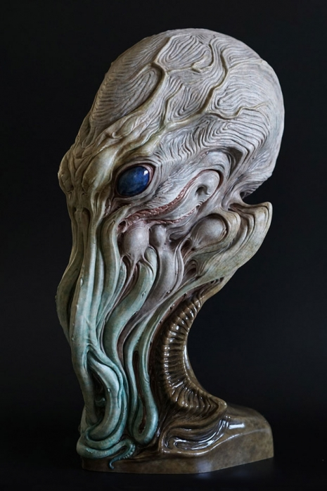 Nightmarish sculptures of H P  Lovecraft's terrifying cosmic