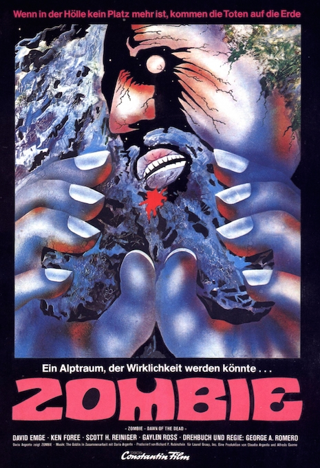 Dawn of the Dead movie poster (Germany)