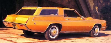Dean Martin's tricked out Cadillac Eldorado by George Barris