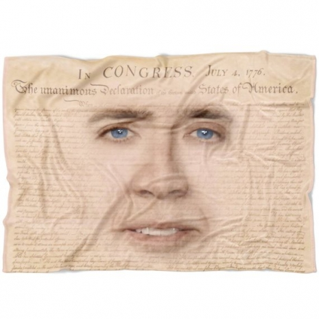 You Don T Say Nicolas Cage S Face On Pillows Bedding Wallpaper Dangerous Minds