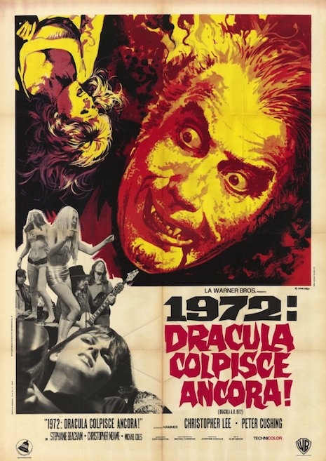 Dracula AD movie poster (Italy)
