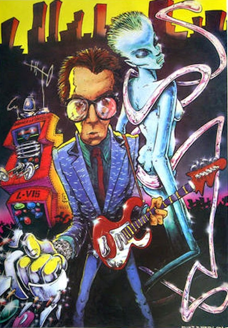 Elvis Costello by Brent Emerson