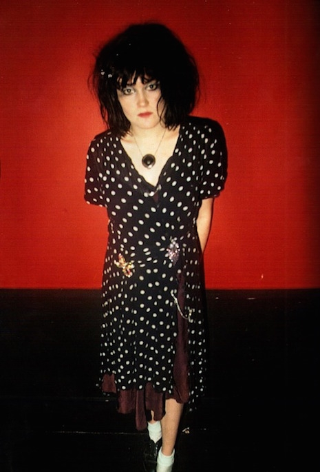 Exene Cervenka of X in LA 1980 by Jim Jocoy