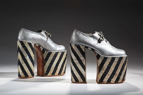 Ferradini platform shoes worn by Elton John, mid-70s
