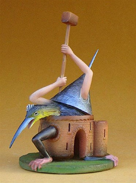 Collectable Hieronymous Bosch Figurines Artes & contextos final515wiGZlYpL 465 627 int