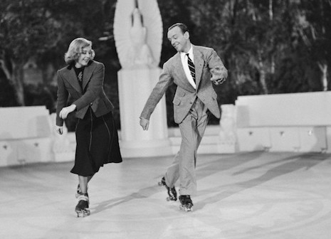 Fred Astair and Ginger Rogers from the 1937 film, Shall We Dance