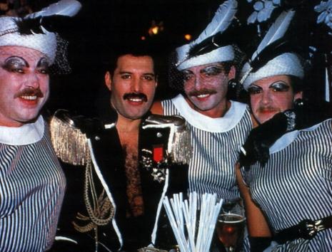 Freddie Mercury's flamboyant birthday party drag ball ...