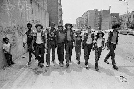 Gang members of the South Bronx