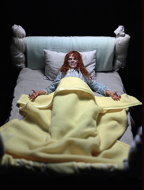 Girl of Satan (Regan from The Exorcist) in bed by Rainman