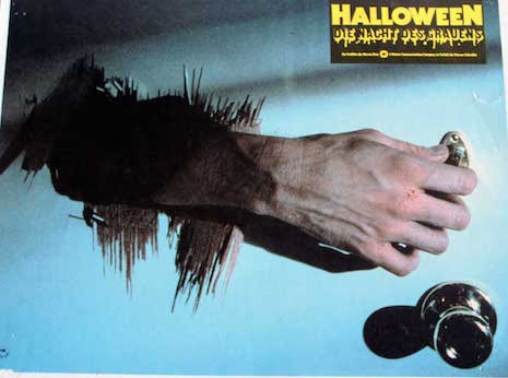 German lobby card for Halloween, 1978