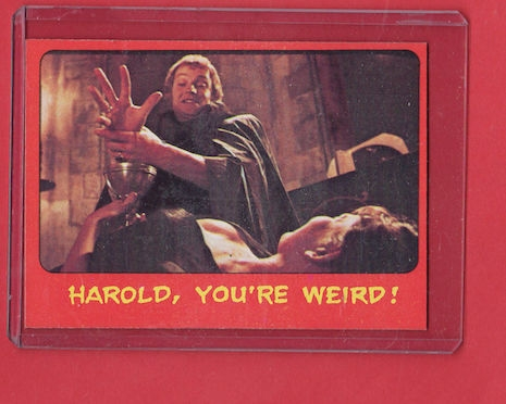Shock Theater Hammer trading card #36 Dracula A.D.