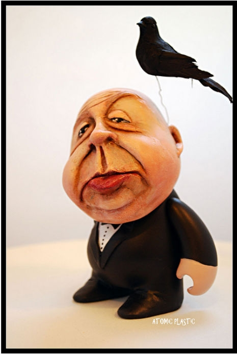 Alfred Hitchcock Vinyl Toy Dangerous Minds