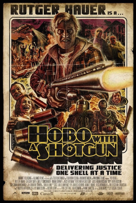 Hobo with a Shotgun movie poster for Magnet, 2011