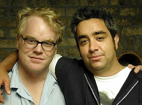 Philip Seymour Hoffman and Stephen Adly Guirgis
