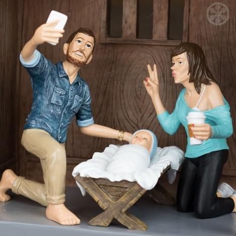 Image result for hipster nativity