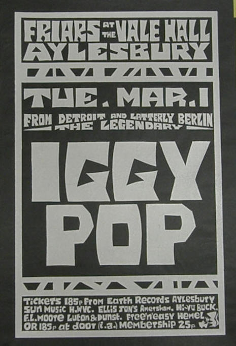 March 1, 1977 poster