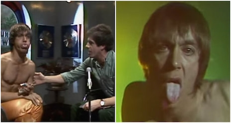 Images from Iggy Pop's 1979 appearance on Australian show, Countdown