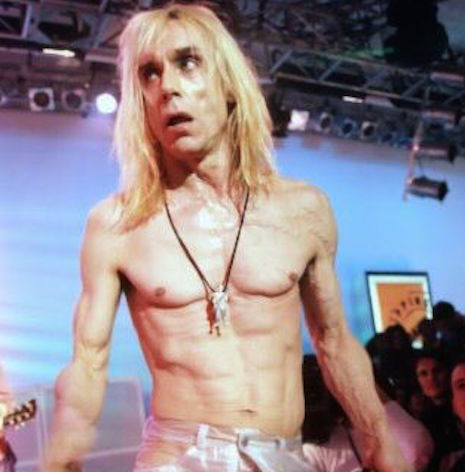 Iggy Pop on UK music TV show, The White Room, 1996