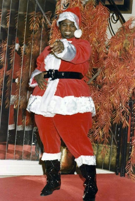 James Brown as Santa Claus