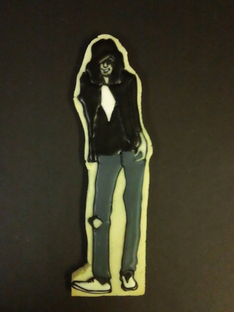 Joey Ramone cookie