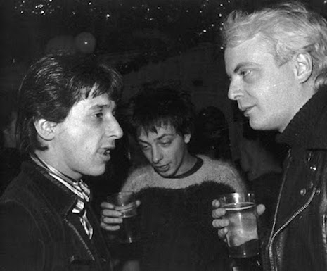 Johnny Thunders, Nils Stevenson and Lee Black Childers (RIP)