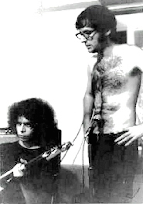Jon Landau and Wayne Kramer, 1970