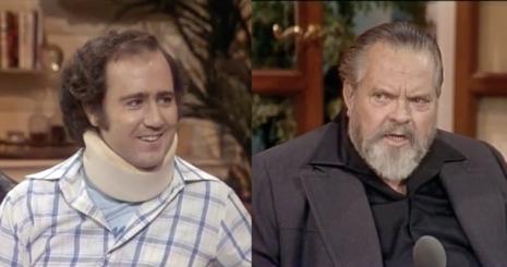 That time Orson Welles met Andy Kaufman @Dangerous Minds Artes & contextos kaufman 764 smiling 20938234242 465 245 int