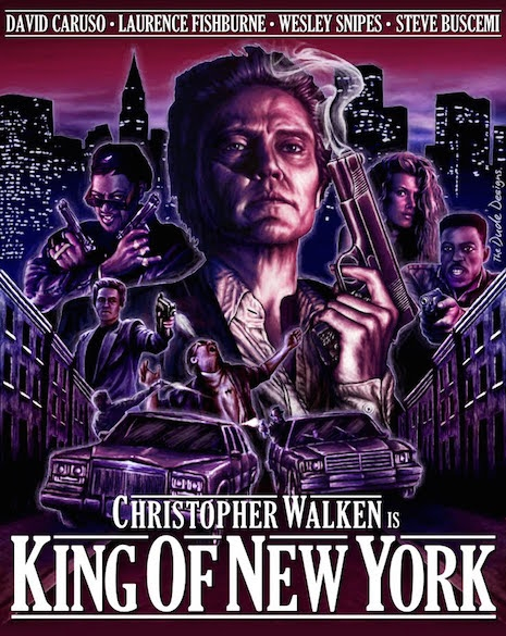 King of New York for DVD/BlueRay art for Arrow 2012