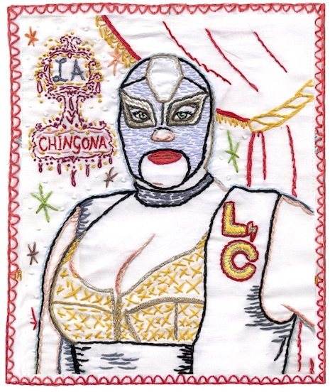 La Chingona embroidery