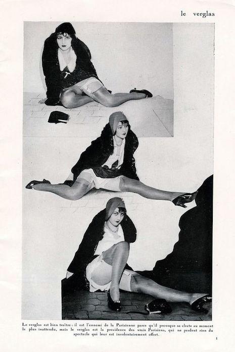 'Legs & Attitudes': Vintage French leg fetish magazine from 1930
