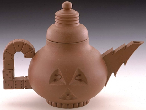 Light bulb teapot 1984 Richard T. Notkin