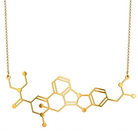 LSD molecular necklace