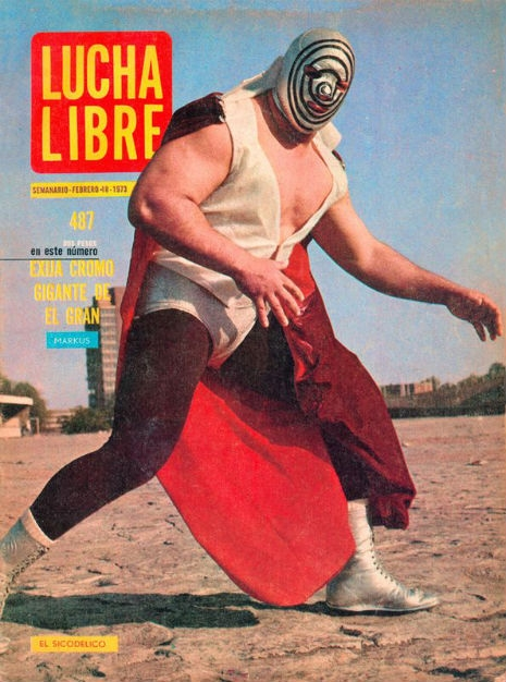 Awesome Lucha Libre magazine covers from the 1970s