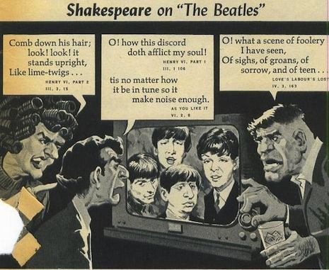 Mad Magazine makes fun of the Beatles