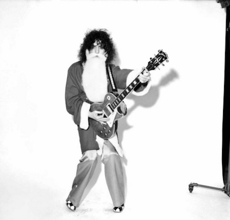 Marc Bolan as Santa Claus