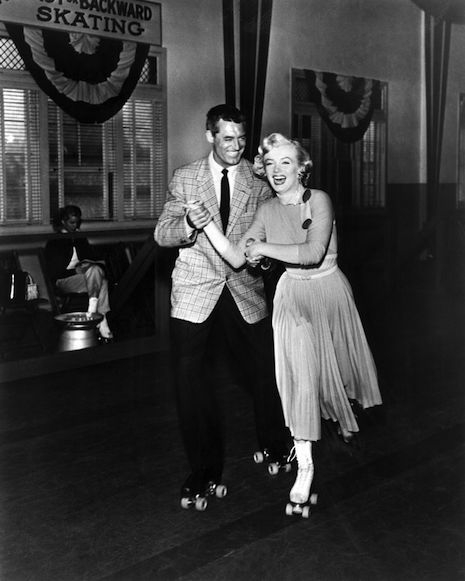 Cary Grant and Marilyn Monroe from the 1952 film, Monkey Business