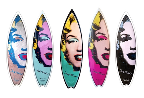 Marilyn Monroe surfboards
