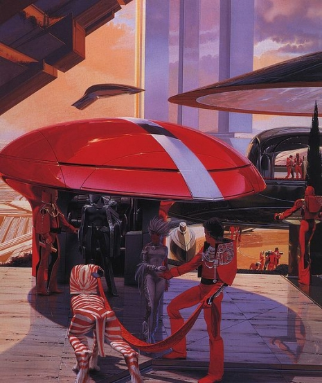 Visual Futurist: Step inside the sci-fi world created by 'Blade Runner' visionary Syd Mead  Meadfutureq09euflkjaslkjfasd_465_552_int