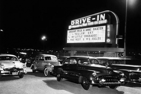 Nostalgic images of drive-in movie theaters | Dangerous Minds