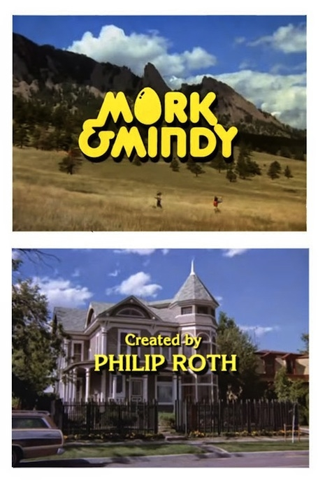 Mork & Mindy created by Philip Roth