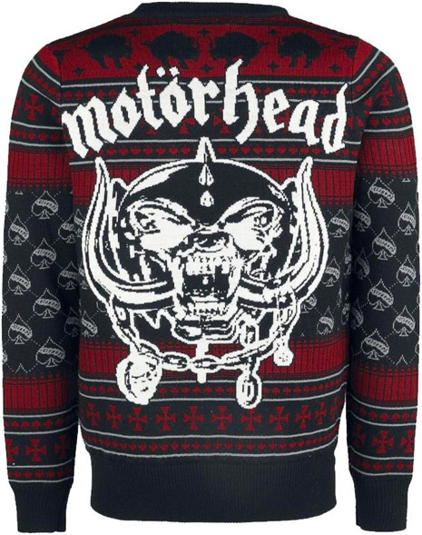 Satanic Christmas Sweater.The War On Christmas Is Over Motorhead Wins Dangerous Minds